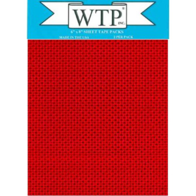 "WTP 6"" X 8""  DECORATOR TAPE (2 SHEETS PER PACK)"